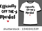 mr and mrs couple t shirt... | Shutterstock .eps vector #1540341539