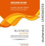 flyer design content background.... | Shutterstock . vector #1540360253
