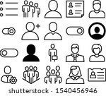 user vector icon set such as ...