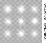 white glowing light explodes on ... | Shutterstock .eps vector #1540505966