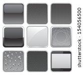 web apps buttons set | Shutterstock . vector #154056500