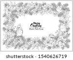 Christmas Wreath Of Spruce ...