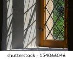 Window In An Old Village Church
