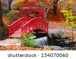 Beautiful Japanese Garden In...