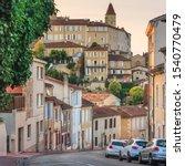 summer city landscape   view of ... | Shutterstock . vector #1540770479