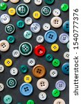 Colorful mixed sewing buttons...