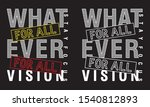 what ever for all typography... | Shutterstock .eps vector #1540812893