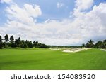 golf course   Shutterstock . vector #154083920