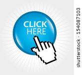 click here design over white... | Shutterstock .eps vector #154087103
