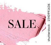 sale sign over abstract texture ... | Shutterstock . vector #1540991636