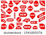 new icon isolated banner vector ... | Shutterstock .eps vector #1541005376