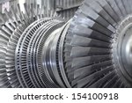 internal rotor of a steam... | Shutterstock . vector #154100918