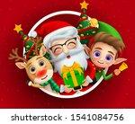 christmas holiday season... | Shutterstock .eps vector #1541084756