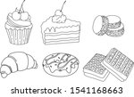 vector illustration of sweeties ... | Shutterstock .eps vector #1541168663