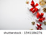 merry christmas and happy... | Shutterstock . vector #1541186276