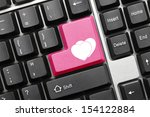 close up view on conceptual... | Shutterstock . vector #154122884