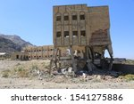 One of the destroyed schools in Taiz city yemen , which was detonated by mines by the Al-Houthi militia and the bombing of missiles by coalition