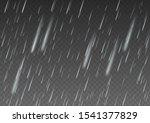 rain isolated on background.... | Shutterstock . vector #1541377829