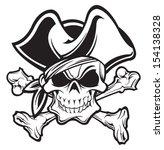 pirate | Shutterstock .eps vector #154138328