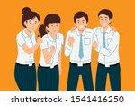 thai university student team...   Shutterstock .eps vector #1541416250