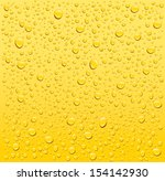 Yellow Water Droplets...