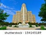 McKinley Monument & Buffalo City Hall, Buffalo, NY, USA