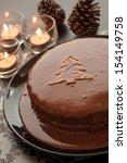 Still Life Of Chocolate Cake...