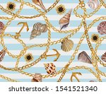 Seamless Tropical Patterrn With ...
