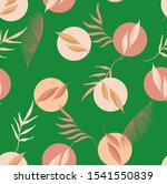 seamless pastel color dots and...   Shutterstock . vector #1541550839