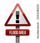 Flood Area Road Sign...