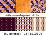 Halloween Seamless Pattern...