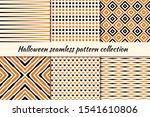 halloween seamless pattern... | Shutterstock .eps vector #1541610806