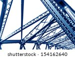 Abstract View Of Bridge