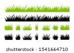vector green grass illustration ... | Shutterstock .eps vector #1541664710