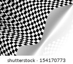 checkered texture 3d background.... | Shutterstock . vector #154170773