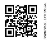 qr code sacn icon. mobile... | Shutterstock .eps vector #1541729066