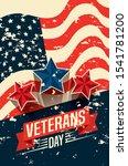 veterans day celebration with...   Shutterstock .eps vector #1541781200
