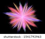 Beautiful Star Fractal.bright...