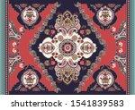 colorful ornamental vector...   Shutterstock .eps vector #1541839583