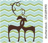 abstract zig zag background | Shutterstock .eps vector #154189490