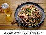 Yum  Spicy Thai Squid Salad...