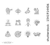 mission vision integrity icons... | Shutterstock .eps vector #1541914406