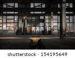 Large Industrial Door In A...