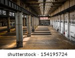 industrial interior of an old... | Shutterstock . vector #154195724