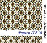color pattern from geometrical... | Shutterstock .eps vector #154195838