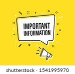 male hand holding megaphone... | Shutterstock .eps vector #1541995970