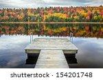 Stock photo autumn reflection 154201748