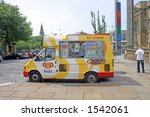 Ice Cream Van Outside Liverpoo...