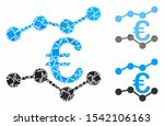 euro trends mosaic of inequal... | Shutterstock .eps vector #1542106163