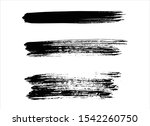 art abstract ink paint stroke... | Shutterstock .eps vector #1542260750